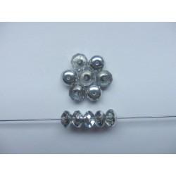 Koblihy 9 mm krystal/stříbro