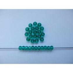 Koblihy 5 mm akvamarín