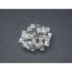 Broušený bavorák 6 mm krystal