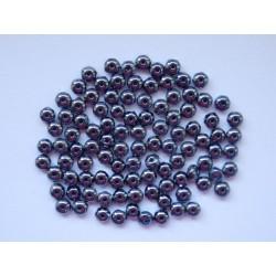 Koblihy 3/2 mm černá/hematit