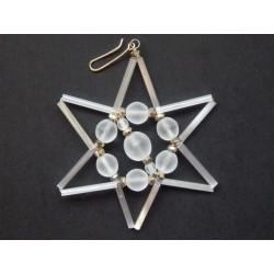 Hvězda bílá, průměr 6.5 cm