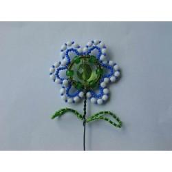jarní květina - zápich, modrá