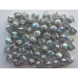 bols perle 8 mm krystal/