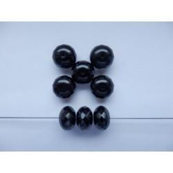 Koblihy 14 mm černá