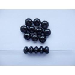 Koblihy 11 mm černá