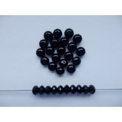 Koblihy 9 mm černá