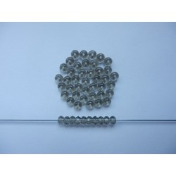 DONUTS 5 mm SMOKY GREY