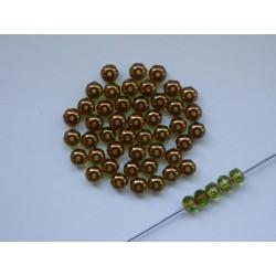 DONUTS 5 mm GREEN/BRONZ