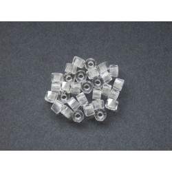 BIG HOLE ROLLERS 6 mm CRYSTAL