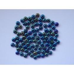 DONUTS 3/2 mm BLACK/GREEN IRIS
