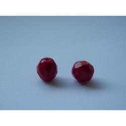 ROUND BEADS 8 mm, RED