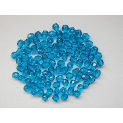 ROUND BEADS 3 mm, AQUAMARINE