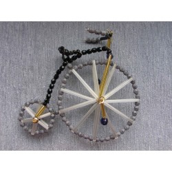 BIKE, 10 cm, BLACK/GREY