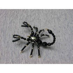 SCORPION, 7 cm, BLACK