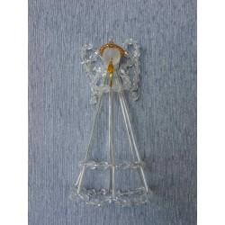 Anděl velký krystal se svíčkou