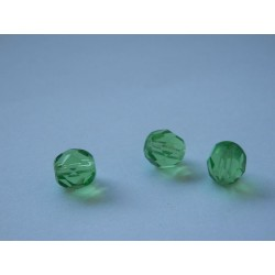 ROUND BEADS 7 mm, GREEN