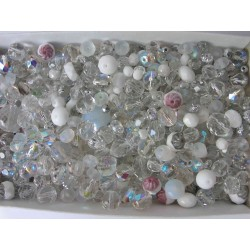 MIX OF EACH GLASS BEADS 250...