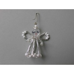 SMALL ANGEL, 4 cm, WHITE