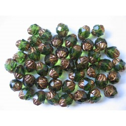 TURBINES 10/8 MM GREEN/BRONZ