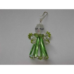 SMALL ANGEL 4 CM, GREEN