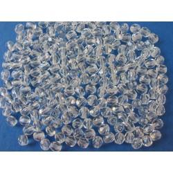 Broušená kulička 4 mm krystal