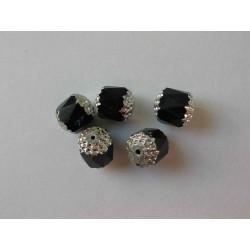 Bols perle 10 mm, černá s...