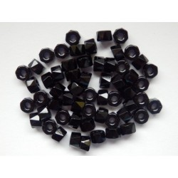 BIG HOLE ROLLERS 6 mm BLACK