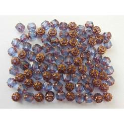 Bols perle 6 mm fialová s...