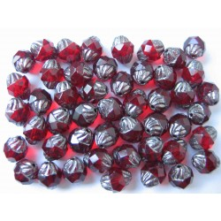 TURBINES 10/8 MM RED/PLATINUM