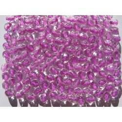 ROUND BEADS 5 MM CRYSTAL/PINK