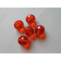 ROUND BEAD 12 MM ORANGE