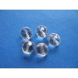 broušená kulička 12 mm krystal