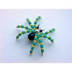 pavouček pro štěstí - zelený