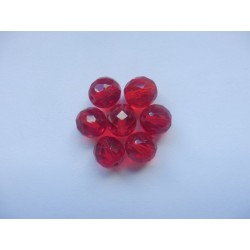 ROUD BEADS 12 mm, RUBY