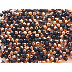 PRESSED BEAD 4  mm DARK...