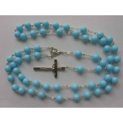 ROSARY - PRESSED BEADS 8 mm...