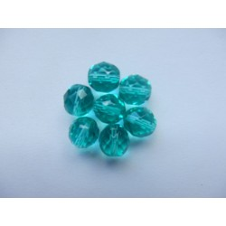 ROUND BEADS 10 mm, AQUAMARINE