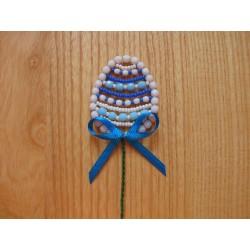 EASTER EGG- BEAD STICK, BLUE