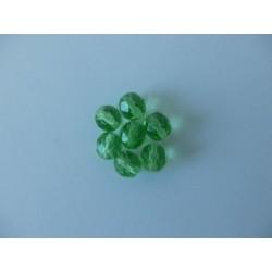ROUND BEADS 8 mm, GREEN